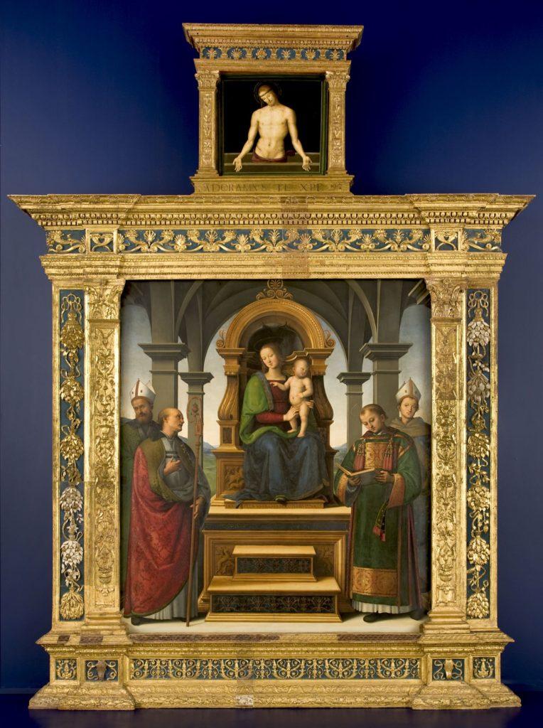 """La """"Pala dei Decemviri"""" del Perugino alla Pinacoteca ..."""